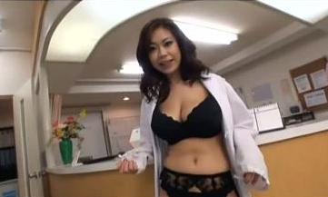 Sexy Hospital Receptionist Pleasing Patient