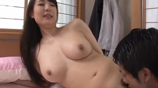 Super Hot Japanese Mom Bored So Fucks Son