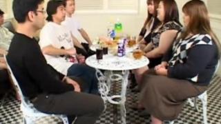 Japanese Incest Family Gangbang