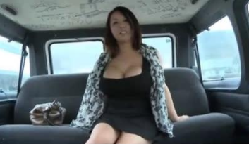Chinese Street Pickup and Fucking Inside Moving Van
