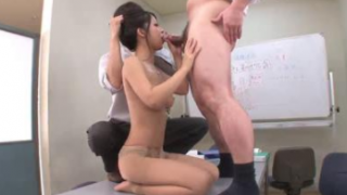 Young Asian Secretary Gangbanged By Officers At Meeting