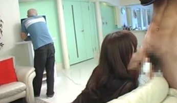 Japanese Mother in Law Fucked behind Husband Back