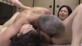 Jav Family Threesome Father Fuck Stepdaughter and Mom