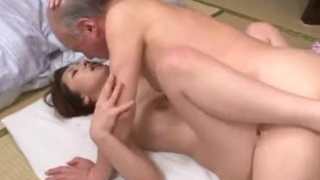 Japanese Widow Gets Satisfied By Loving Father in Law