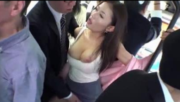 Gets Cum From Stranger In Public Bus