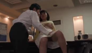 Sex With Busty Colleague In Office