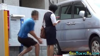 Real Japanese Teens Groped In Public
