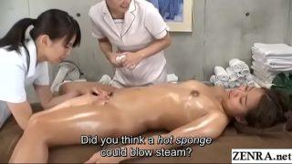 JAV Lesbian Sex Massage Therapy