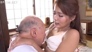 Japanese Wife Fucking Father In Law Fulfilling His Desire